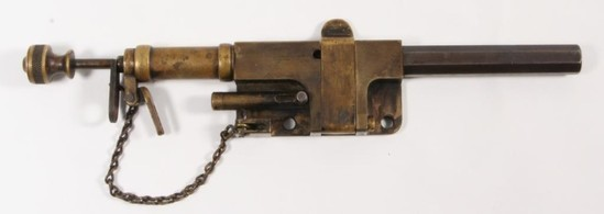 """*Scarce Fosberry Ltd. Farmington """"Door Alarm Gun"""""""