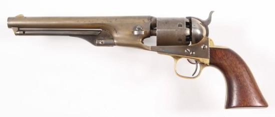 *Colt, Presentation 1861 Navy Model,