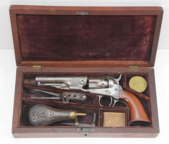 *Cased Colt, 1862 Police Model Presentation,
