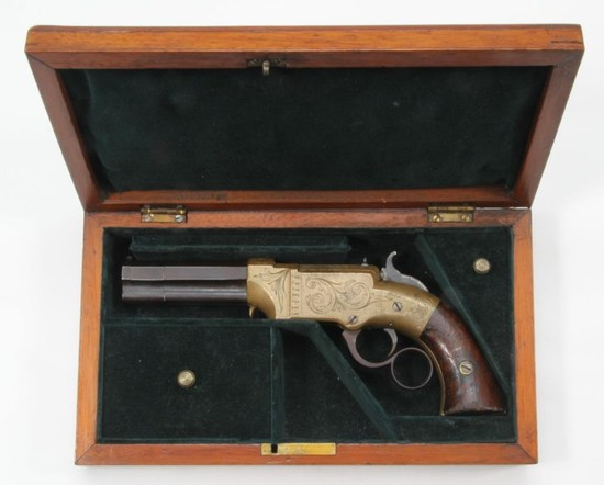 *Cased New-Haven Arms Co., Volcanic No. 1 Pocket Pistol,