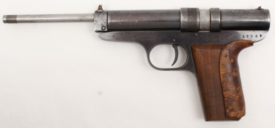 *Hubertus Germany, large frame, .177 cal., s/n 12039, air pistol,