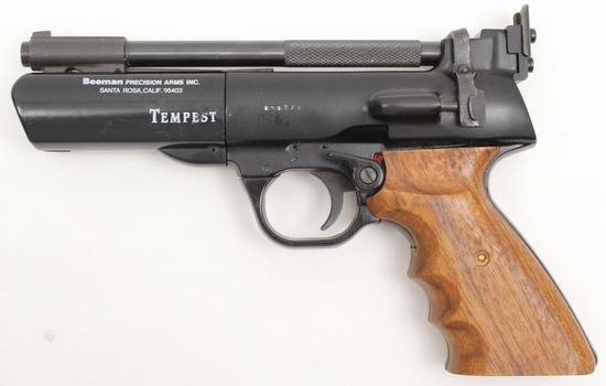 *Webley & Scott/Beeman, Tempest Model, .177 cal, s/n 056771, air pistol,