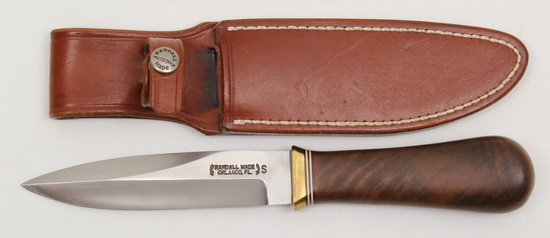 Randall Model 24 Guardian, designed in 1978 for use by police,