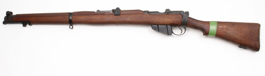 MA Lithgow, S.M.L.E. III* Green band, .303 British, s/n D76615, rifle,