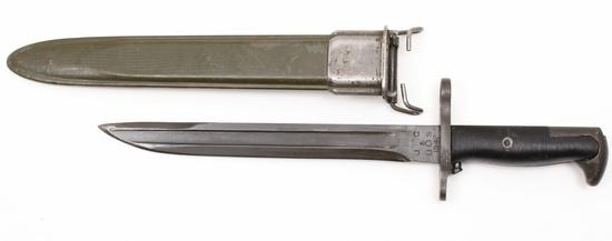 Bayonet - Model of 1942 U.S. M1 Garand cut down bayonet
