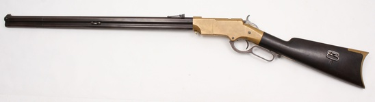 *Exceptional New Haven Arms Co., 2nd Model Henry Repeating rifle, .44 Henry