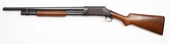 Winchester, Model 1897 riot gun, 12 ga, s/n E647148, shotgun, brl length 20