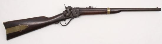 "*Sharps Rifle Manuf. Co., Model 1852 ""Slant Breech"" SRC, .52 cal, s/n 14296"