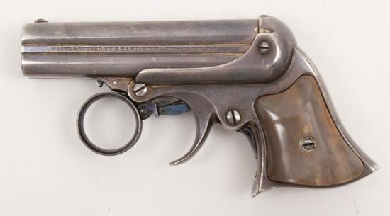 *E. Remington & Sons, Elliot Pepperbox derringer,