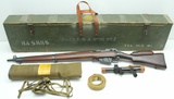 Exceptional Long Branch, No. 4 MK I T Sniper rifle, .303 British,
