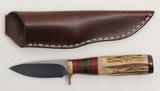Wayne Custom fixed blade knife.  3.25
