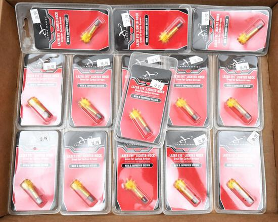 (14) packs Carbon Express Lazer Eye Lighted Nocks