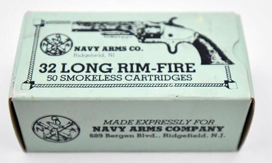 .32 Long Rim-Fire ammunition - (1) box Navy Arms