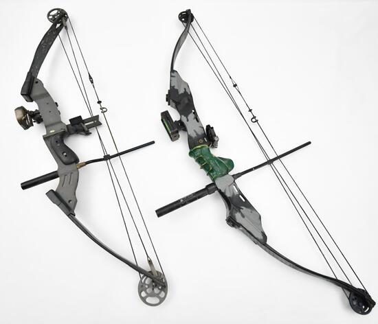 (2) PSE compound bows Elite Series & Infinity