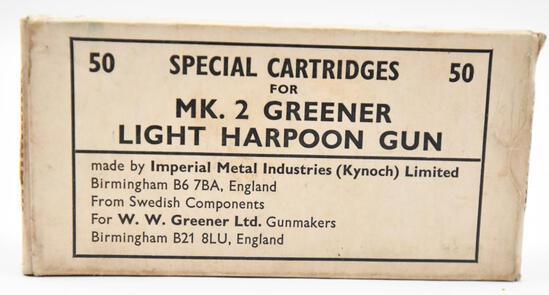 MK. 2 Greener Light Harpoon Gun Special Cartridges