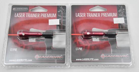 pair of LaserLyte LT-Pre Laser Trainer Premium