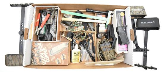 Large lot of archery supplies to include