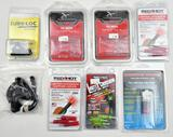 Lot of archery accessories to include Sure-Loc