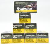 .22 Long Rifle ammunition (8) boxes Remington