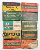 .22 Short ammunition (10) boxes, five boxes are