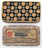 .25 Automatic Colt ammunition (1) box, 2 piece