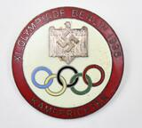 1936 Olympic Judges Badge approximately 1.5