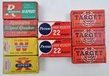 .22 Short ammunition (9) boxes assorted