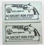 .32 Short Rim-Fire ammunition (60) total rounds in