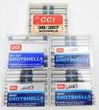 38/357 Shotshells ammunition (5) boxes CCI