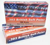 .303 British ammunition (34) total rounds Hotshot