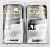 (2) LaserMax guide rod lasers for Glock 26/27