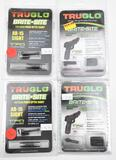 (4) Tru Glo Brite-Sites, two are AR-15, one