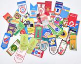 lot of dozens small Russian pennants from