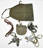 lot to included WWII Air Corp Apron, Vietnam USMC