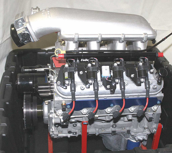 LSX 396 NA engine, NEW in shipping container