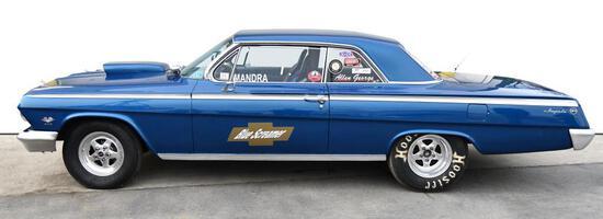 1962 Chevy Impala, 400 Turbo trans.