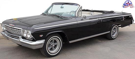 1962 Impala SS convertible, 327/350  small block with
