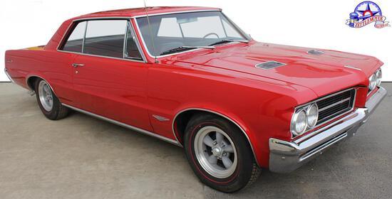 1964 Pontiac GTO, 389 eng. with (3) 2 barrel carbs
