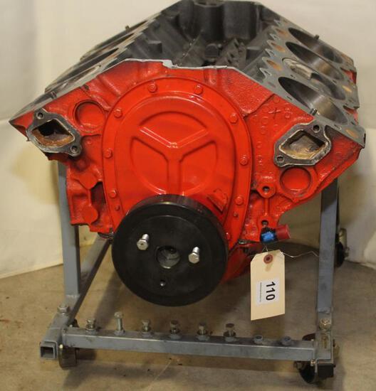 Chevy 409 big short block engine