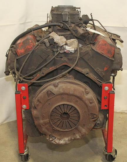 Chevy 327 engine, complete with carb. and