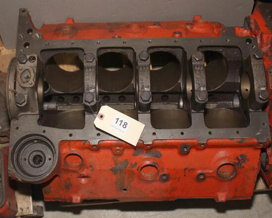 Chevy 409 bare block