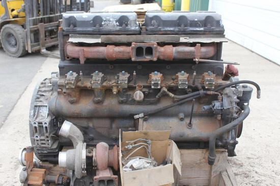 2002 Mack model E7-427 engine, s/n 2M1573