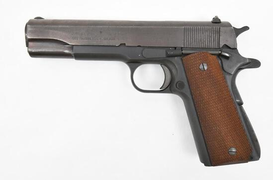 "Colt/Unknown, Model 1911, .45 Auto, s/n LH 1363, pistol, brl length 5"", good plus condition"
