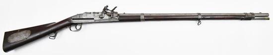 * Rare Ellis-Jennings, U.S. Contract M-1817 4-shot Repeating Common Rifle, .54 cal,