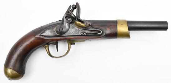 * Imperiales St. Etienne, AN IX 1810 Model French Pistol, .68 cal, s/n NSN, muzzleloading pistol,