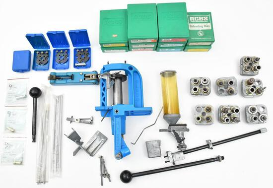 Large Reloading lot to include Dillon RL-550 with lots of extras.