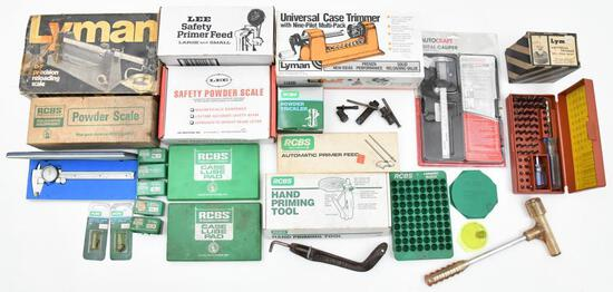 Large lot of Reloading accessories