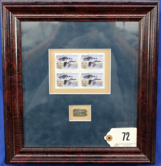 1995 Pa Waterfowl Management Stamps,