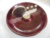 """VINTAGE ART DECO STYLED ADVERTISING ASH TRAY FEATURING """"DEKALB HYBRIDS""""-VERY CLEAN"""