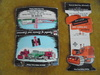 OLD INTERNATIONAL HARVESTER AND AN ALLIS-CHALMERS ADVERTISING MATCH BOOKS-NO MATCHES